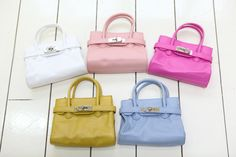 Baby Birkin for your little ones~   at www.allaboutbebe.com