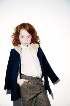 Mr. Dandy // My Little Dress Up - AW 13 - Laurent coat