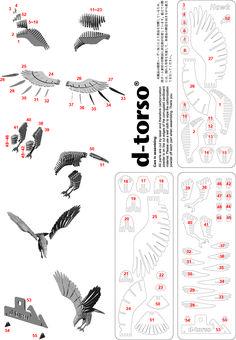 Resultado de imagem para D-Torso Cardboard Animals - Horse
