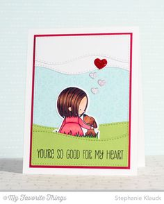 You Have My Heart stamp set and Die-namics, Blueprints 20 Die-namics, Stitched Snow Drifts Die-namics - Stephanie Klauck #mftstamps