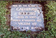 The gravestones of Catherine Eddowes