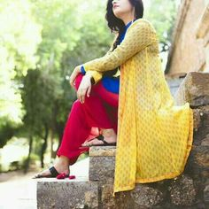 Awesome shared by Muslimah girl on We Heart It Kritika Khurana, Dps For Girls, Kamiz, Cute Texts, Girls Dpz, Pakistani Dresses, Simple Dresses, How To Look Pretty, Different Styles