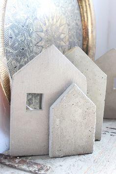 Artisserie: beton 3 und 2d-formen selber herstellen - häuser schritt-für-schritt - concrete 2 houses diy making molds in 2d