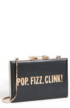 kate spade new york 'all that glitters - emanuelle' frame clutch available at #Nordstrom