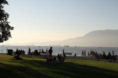 Kitsilano Beach by Mark Max Henckel, via Flickr