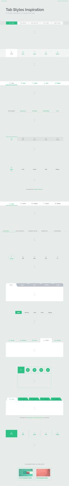 Menu - Navigation - Desktop