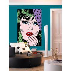 Giant Art Poster interior view True Romance Comic Style