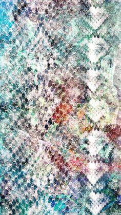 Patternatic - animalier pitone multicolor