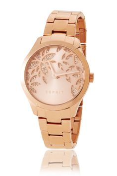 It's not really my colour but anyway it's gorgeous! Esprit-watch with zirkonias