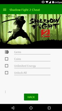 shadow fight 2 mod apk max level unlimited money and gems no root