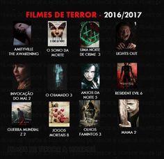 Filmes de terror 2016 2017