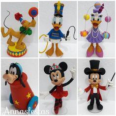 #biscuit #coldporcelain #porcelanafria #circus #circomickey #Pluto #donaldduck #patodonald #minnie #minnieballet #mickeymouse #margarida…