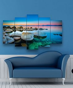 Take a look at this Sunset Waters Five-Panel Wall Art today!