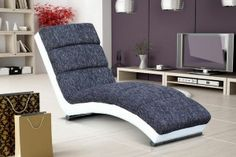 Design fauteuil on pinterest poufs canapes and salons - Chaise longue fauteuil ...