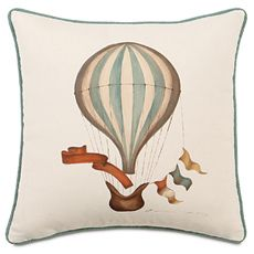 HAND-PAINTED BALLOON W/CORD
