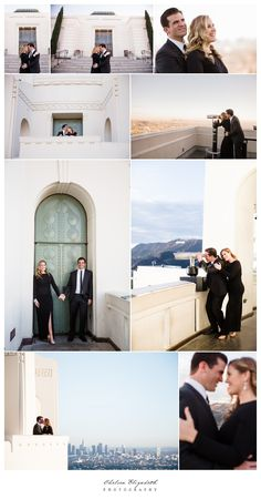 Griffith Park Observatory engagement session by Chelsea Elizabeth Photography Http://chelseaelizabeth.com  griffith observatory,engagement, los angeles,chelsea elizabeth photography, downtown, urbanscape