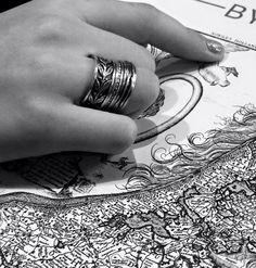 Handgemaakte sieraden #Vinx #Hollands #Glorie Losse zilveren ringen in de nieuwe collectie