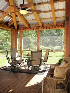 Eclectic Porch Screened In Porch Design, Pictures, Remodel, Decor and Ideas - page 4