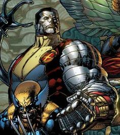 Colossus…My hubby's fav X-man