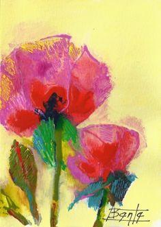 Spring Art Card -- Bente Hansen