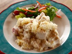 Chicken Cordon Bleu Casserole recipe from Ree Drummond via Food Network. Switch flour for Zanthangum and Panky for Almond flour or pork rinds.