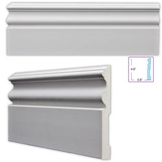 Perfect Traditional 4.75-inch Baseboard