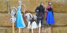 The Frozen movie plot is truly unique and special, and you can give your kids that same magical feeling at home with these Popsicle Stick Puppets Frozen Printables. These puppet printables include all your favorite Frozen characters.