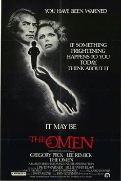 """The Omen"" is a 1976 American suspense horror film directed by Richard Donner. It is the first film in The Omen series and was scripted by David Seltzer, who also wrote the novel. Horror Movie Posters, Best Horror Movies, Classic Horror Movies, Original Movie Posters, Cinema Posters, Scary Movies, Film Posters, Classic Movies, Great Movies"