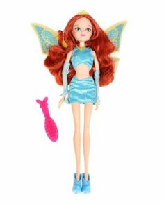 """Winx Club 11.5"""" Special Edition Bloom Charmix Fashion Doll by Jakks. $22.45. 11.5"""" Tall. Special Charmix Edition. Articulated. Spectacular hinged wings can be removed and used on all Winx Club fashion dolls. When a girl faces her fears and releases her own inner magic instinctively (usually to protect herself and others) it's then she earns the power of Charmix!"""