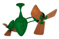 Matthews Fan Co. Ar Ruthiane Wood (Damp Rated) MG-AR-GREEN-WD - Airflow Rating:  6174 CFM (Cubic Feet Per Minute) Contemporary Ceiling Fans, Cubic Foot, Wood, Model, Green, Design, Woodwind Instrument, Timber Wood