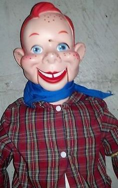 1952 Howdy Doody Marionette W/Box & Catalog Mint Condition ...