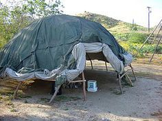 Sweat lodge - Definitely on my list of things to build next year....