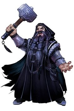 Thorin Battlehammer, Hill Dwarf, Tempest Domain Cleric