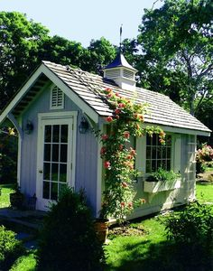 cute garden shed More