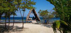 Massage Hut on Sanctuary Belize Caye