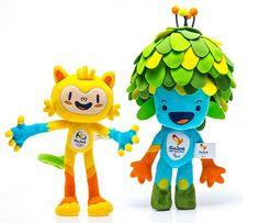 Rio 2016 abre loja online com linha exclusiva dos mascotes Vinícius e Tom
