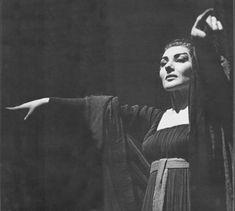 """Maris Callas en """"Medea""""."""