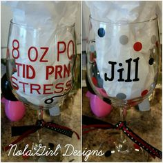 Check out this item in my Etsy shop https://www.etsy.com/listing/254320997/nurse-wine-glass-safety-first-drink-with #nurse #wine