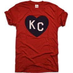 KC HEART | CRIMSON