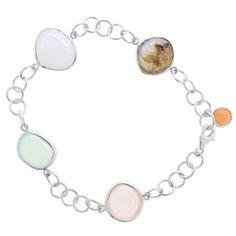 Armband Gem Drops 2 Silber - Art.-Nr.: AB2112-MIX  #Leafschmuck #Leafjewelry #jewelry #rose #rosé #gold #fashion #style #stylish #cute #beautiful #beauty #jewelry #jewels #jewel  #fashion #gems #gem #gemstone #bling #stones #stone #trendy #accessories #love #crystals #ootd #fashionista #accessories #fashionjewelry #look #outfit #bracelet