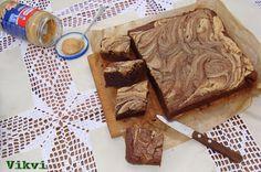 B&B: Anyuci készítenél...: Mogyoróvajas krémsajtos brownie
