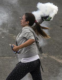 Mujeres en las protestas de Venezuela