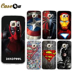 Find More Phone Bags & Cases Information about For Galaxy S7 Edge Deadpool Spiderman Avengers Hard PC Case Caso For Samsung Galaxy S6 S7 Batman Ironman Superman Accessories,High Quality Phone Bags & Cases from Case4u Group on Aliexpress.com