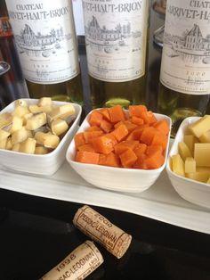 Wein- und Käseverkostungen auf verschiedenen Château