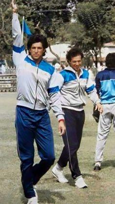 Imran khan and wasim akram