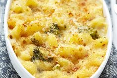 Weight Watchers Macaroni and Cheese Casserole with Broccoli
