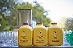 Kick your aloe up a notch! Serve as a party option and mix with other beverages and juices!