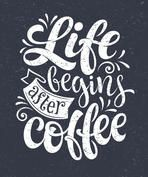 Life begins after coffee inscription for prints and posters menu design invitation and greeting cards Calligraphic and typographic collection chalk design Coffee Chalkboard, Chalkboard Lettering, Chalkboard Signs, Chalkboards, Coffee Menu, Chalkboard Ideas, Chalk Design, Menu Design, Design Design