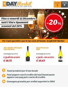 Capodanno con Day Market: fai scorta dei vini in promozione