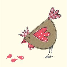 Hen design http://dotsandspots.co.uk/136-hen-gift-tag.html